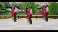 红尘情歌双人舞 广场舞14步双人舞 男女配合相当默契简单易学浙江广场舞16步