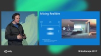 Unite Europe 2017 - MR, 3D _ the next step in human_computer interaction