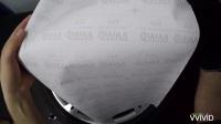 亚光黑施工轮毂贴膜——VViViD
