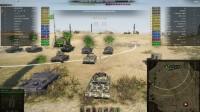 坦克世界游戏视频 美国美系5级M系 T67自行反坦克炮 火力支援黑枪游走 荒蛮之地