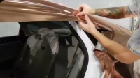 【CK教大家汽车改色】VViViD电镀玫瑰金—现代劳恩斯—后翼子板施工