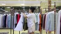 阿邦服装批发-时尚夏装女款宽松版棉T恤20件起批--692期
