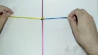 中国结论坛 单向平结编法视频教程- 绳结教程 视频教程  视频教程区