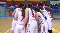 2017年女篮U19世界杯小组赛:西班牙vs俄罗斯