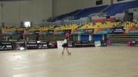 2017第七届全国自由式轮滑锦标赛   青女花式绕桩2th  刘佳欣