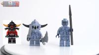 【黑白评测】★乐高LEGO★未来骑士团853677石头魔灵兵包