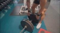 健身大神背部训练跟拍解析
