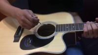 吉他弦距太低打品怎么调节