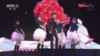 《2014年中央电视台春节联欢晚会》哈林(庾澄庆)、李敏镐演唱《情非得已》