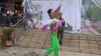 男声独唱《雁南飞》演唱:张志才 伴舞:王秀云