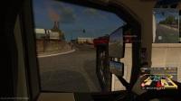 【斑条豌豆】欧洲卡车模拟2 被一个大货车追尾了