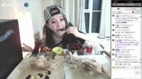 吃播投稿微信cnzdch——韩国吃播大胃王吃货美食视频美食_日常_生活