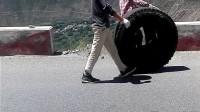骑车去西藏 新藏线男神秒表滇藏线轮胎哥