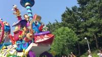 2017年7月7日日本东京迪士尼乐园花车盛装表演1