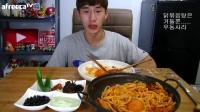 吃播投稿Q群469033822——奔驰小哥韩国吃播大胃王吃货美食视频美食_美食圈_生活