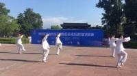 赵世亮老师等表演陈式太极拳(2017承德全民健身武术展演)