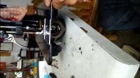 老式缝纫机梭床的拆卸安装