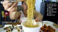 中国吃播和韩国吃播——韩国吃播大胃王吃货美食视频美食_美食圈_生活