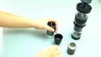 让1Z磨豆机与咖啡机完美衔接的利器-粉杯连接环