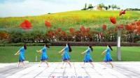苏州盛泽雨夜广场舞《守望者》正面演示版