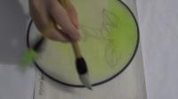 凌达教您画工笔画--工笔画绢扇 清香001