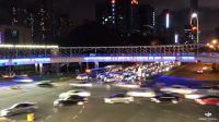 osmo延时摄影深南南新天桥