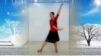 王梅广场舞《雪域爱人》正反面附口令分解教学