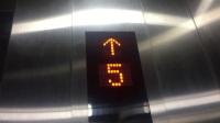 呼和浩特万达广场电梯间(直上24层,上海三菱电梯)