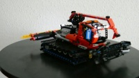 Lego Technic [MOC] Snow Groomer 1st try (8263 Improved)