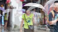 苏州山塘街雨中美景