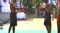 缅甸泰拳不一样的膝法应用教学