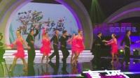 天津电视台耀舞扬威广场舞大赛 景梅舞蹈团 吉特巴