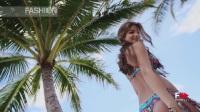 露莉法玛梦幻系列泳装和沙滩衣模特