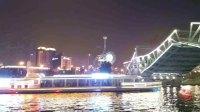 解放桥开桥的延时摄影 2017.8.17.
