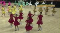 2017黑池舞蹈中国结女子拉丁六人组牛仔