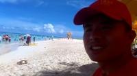 实拍塞班岛一处海边沙滩(2)
