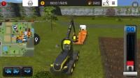 模拟农场16-卡车运输庞赛伐木机和运输机