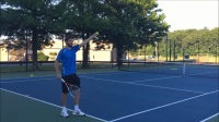 Tennis Best Slice Serve Technique To Push Players Out Of The Court