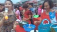 义乌城市有爱厨艺小吃比赛活动:传媒部部长王芳龙影制