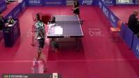 英国乒乓球打的不错-2017捷克赛李艺杰vs皮特福德【速递版】