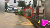 网友目击男子冒台风砍树清路 没想到竟是周润发