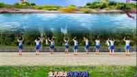 艳桃广场舞《情歌赛过春江水》团队版