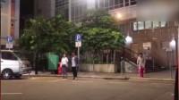 八卦:TVB演员梁烈唯在拍戏时被汽车撞飞 头部受伤