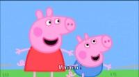 粉红猪小妹英文 Pappa pig S1E10_种籽变大树