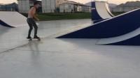 Spine弧面道具动作教学  B.C.SkatePark 滑板公园