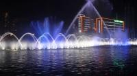 佛山文华公园水舞声光秀2017