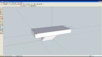 淄川中学创新教育处制作  3D设计课程  sketchup8 ——楼梯及撑杆设计过程 2