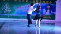 天津舞蹈大师穆健弟子沈阳海涛周周老师在本溪果果老师聚会上精彩表演