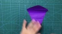 爱折纸的小白—海螺教程