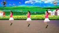 2017年最新阳光美梅原创广场舞【DJ最幸福的人】32步正背面附动作分解_高清